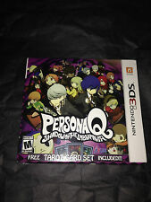 Persona Q With Tarot Cards | Brand New | Sealed | Ninendo 3DS