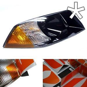 US - Design - Folie für Scheinwerfer / Blinker Skoda Octavia style rechts/links