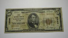 $5 1929 Callicoon New York NY National Currency Bank Note Bill Ch. #13590 FINE!