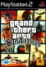 Playstation 2 GTA GRAND THEFT AUTO SAN ANDREAS * Deutsch * Neuwertig