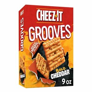 Cheez-It Grooves Bold Cheddar 9oz