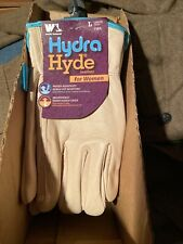 Wells Lamont HydraHyde Women's Leather Gloves LARGE NEW