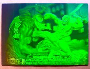 Marvel Universe IV Spider-Man vs Venom H-IV Hologram GREEN/BLUE/PURPLE!!🔥Rare🔥