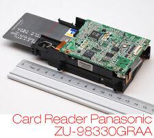 CHIPKARTENLESER KARTENSCHREIBER MAGNET CARD READER WRITER PANASONIC ZU-98330GRAA