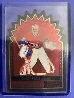 2014-15 OPC Platinum Superstars DieCut #PS-12 Carey Price Montreal Canadiens