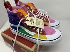 NEW Vans Sk8 Hi MTE 2.0 DX Rainbow All Weather Shoe Men's Size 11
