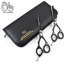 Professional Barber Hairdressing Scissor Haircutting Thinning Set Left handed
