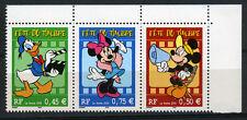 DISNEY. Fête du timbre 2004. Les 3 valeurs. Triptyque Y&T n° T3641a.  cote 6,00€
