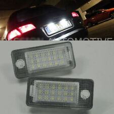 2x LED License Plate Light Module Error free for AUDI A3 S3 RS3 (8P/8PA) 04-2012
