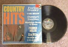Country Hits - Ferlin Husky - Carl Belew - Hamblen - Vinyl LP Record Album