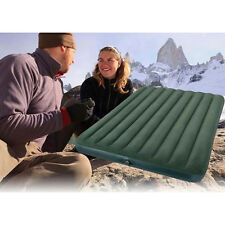 Camping Air Mattress Bed Airbed Queen Tent Outdoor Inflatable Pump Waterproof