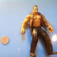 WWF Jakks Wrestling Action Figure Dwayne The Rock Johnson WWE WCW ECW NWO HOF