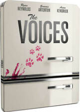 The Voices Limited Edition Steelbook Bluray UK Exclusive Region B NEW SEALED