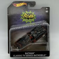 Authentic BATMOBILE Hot Wheels Batman Classic TV Series Batmobile NEW SEALED