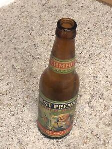 First Premium Lager Beer Bottle K G Schmidt Brewing Co Logansport In Rare Old