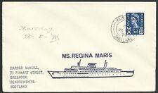 GB SCOTLAND 1970 Regina Maris ship cover - FAIR ISLE / SHETLAND cds........47964