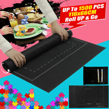 26x46 inch Jigsaw Puzzle Storage Mat Roll Up Puzzle Felt Storage Up To 1500PCS