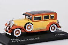 Cadillac V16 LWB Imperial Sedan 1930 hellbraun/gelb WhiteBox 1:43 NEU/OVP