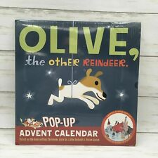 Olive, the Other Reindeer Pop-Up Advent Calendar by J. Otto Seibol New Sealed