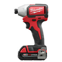 "Milwaukee M18 1/4"" Hex Compact BL Impact Driver Kit 2750-82CT Reconditioned"