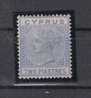 BZ7132/ BRITISH CYPRUS – VICTORIA – SG # 13 UNUSED SIGNED – CV 625 $