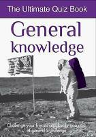 General Knowledge: Ultimate Quiz Book (Ultimate Quiz Books), , Very Good Book