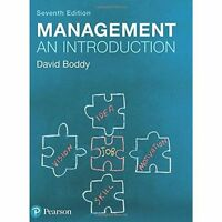 Management: An Introduction by Boddy, David | Paperback Book | 9781292088594 | N