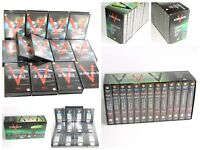 V The Complete Collection 13 VHS Video Box Set  (Rare 12 Sealed Cassette Tapes)