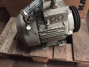 Electric Motor for Atlas Copco GA7 VSD 7.5kW 10 HP 3 phase price inc VAT