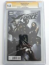 UNCANNY X-FORCE #1 1:25 VARIANT 9.8 CGC SS BY CLAYTON CRAIN 2010