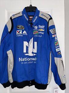 Nascar Dale Earnhardt Jr. Nationwide Cotton Jacket  Blue  JH Design