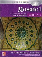 INTERACTIONS MOSAIC 5E WRITING STUDENT BOOK (MOSAIC 1) by Pike-Baky, Meredith (P