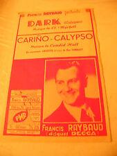 Partitura Dark Mychell Calypso De Carino Francis Raybaud