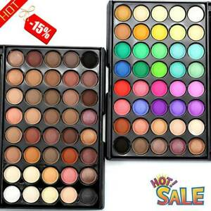 40color Fashion Pigment Matte Shimmer Eyeshadow Palette Eye Shadow Makeup .