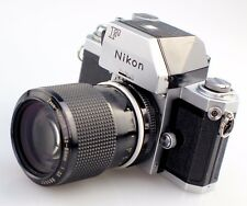 Nikon F1 Professional 35mm SLR Film Camera with Nikkor 43-86mm F3.5 Zoom Lens
