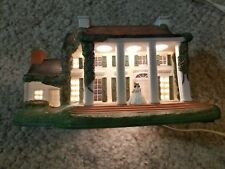 Gone With the Wind Tara Hawthorne Porchlight Collection Lighted Village House