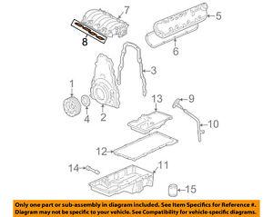 GM OEM-Engine Intake Manifold Gasket 12533587