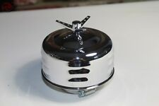Louvered Mushroom 1 Barrel Air Cleaner 3 Wing Spinner Top HotRod Truck New 2 5/8