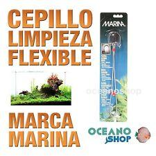 Cepillos limpieza Marina - Flexible limpia tubos filtro acuario pecera gambario