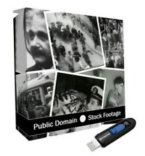 15000+ Public Domain Collection Rare Stock Video Footage Archive On Flash Drive