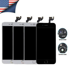 Original iPhone 5c 6 7 SE Plus LCD Screen Digitizer Assembly Home Button Camera