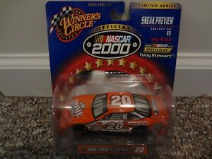 1/43 Winners Circle TONY STEWART #20 HOME DEPOT Rookie of the Year 2000 mint