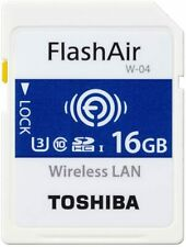 Toshiba wireless LAN-enabled SDHC memory card 16GB Class10 UHS-1Flash Air SD-UWA