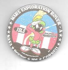 MARS EXPLORATION ROVER pinback button Marvin the Martian U*N*I*Q*U*E