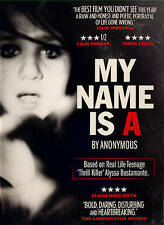 MY NAME IS A BY ANONYMOUS ALYSSA BUSTAMNATE KATIE MARSH THRILLER DVD