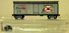 N Scale Micro-Trains Line #02100397 40' Plug Door Boxcar Florida State Car #1845