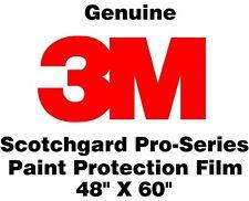 "3M Scotchgard Pro Series Paint Protection Film Clear Bra Bulk Roll 48"" X 60"""
