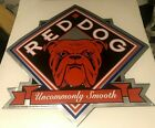 """Collectible RED DOG BEER Tin Sign  23"""" X 23"""""""