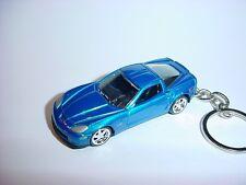 Nuevo 3D Blue 2012 Chevrolet Corvette Z06 Custom Llavero GM 12 Corvette Z