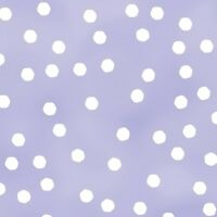 Quilting Treasures Happy Cats Dots on Lavender 100% cotton Fabric by the yard